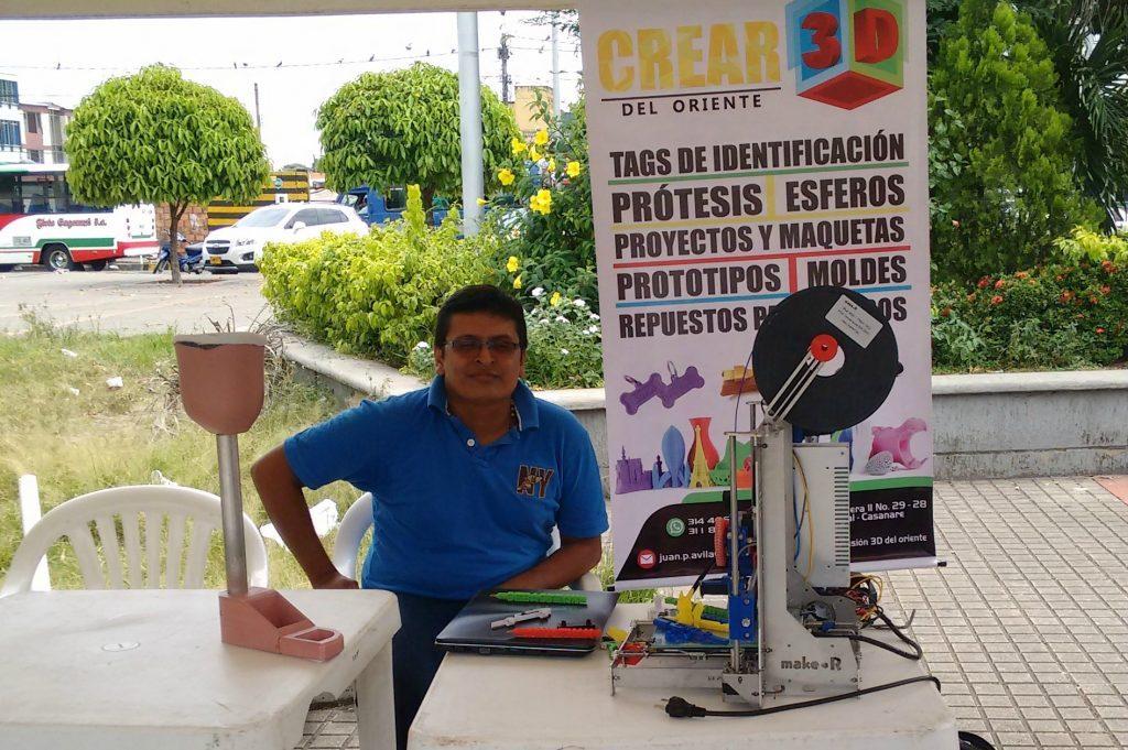 Descubriendo makeRs: Casanare imprime en 3D con energía solar
