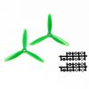 Par de Aspas para drone verdes