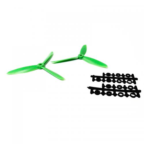 147 Par de Aspas para drone verde