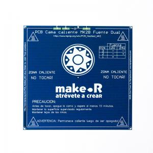 Cama Caliente PCB MK2-1