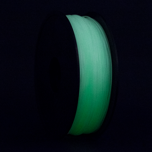 filamento pla verde Glow in Dark 1.75mm