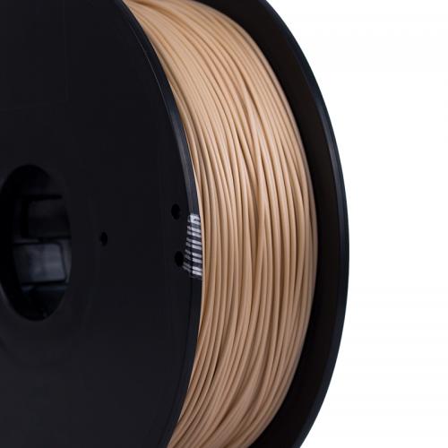 Carrete de filamento madera