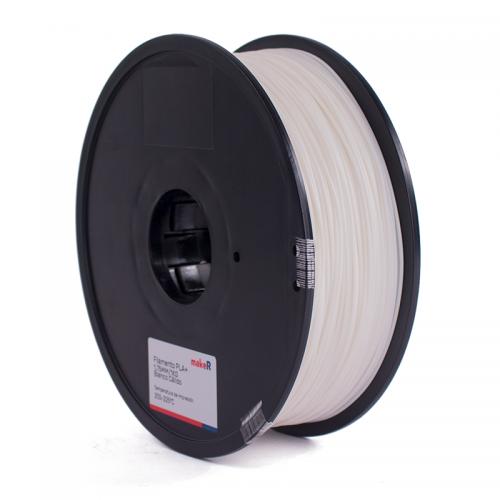 filamento pla plus blanco cálido