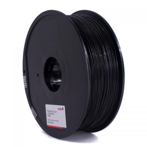 filamento pla plus negro