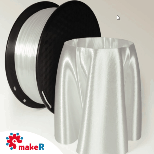 filamento pla seda blanco 1.75mm