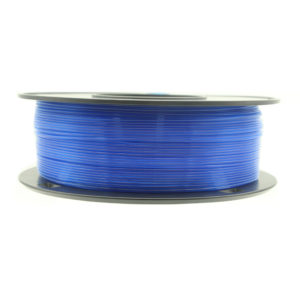 filamento pla azul translúcido 1.75mm