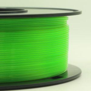 filamento pla verde translúcido 1.75mm