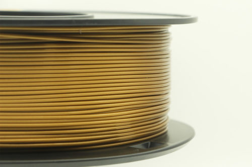 1.75mm PLA Filament Gold 002