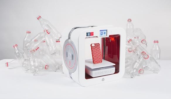 Impresión 3D EKOCYCLE de Coca-Cola como innovación para empresas