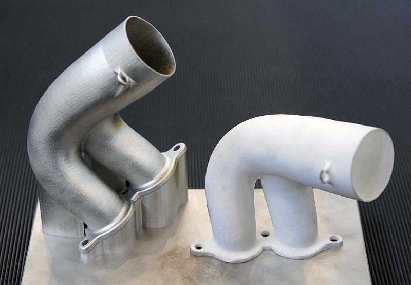 Piezas de aluminio para monoplazas de empresas como la Fórmula 1 hechas con impresión 3D como innovación