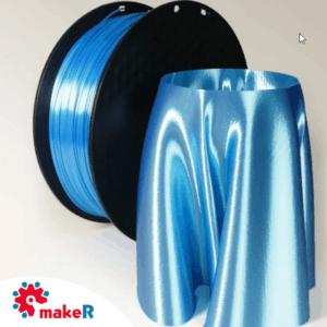 Filamento pla seda azul 1.75mm