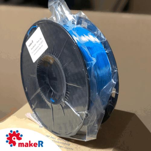filamento pla seda azul