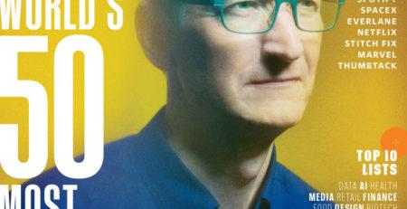 portada de la revista Fast Company sobre la innovación y el éxito empresarial