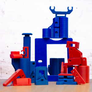 piezas impresas por diseñadores de productos como retos