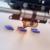 impresora 3d imprimiendo piezas
