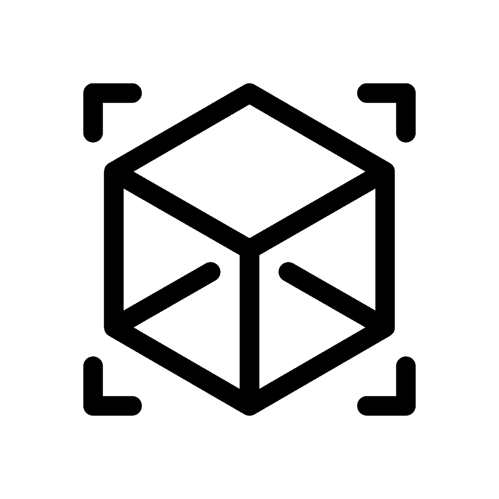 Icono de impresiones robustas con impresoras 3D