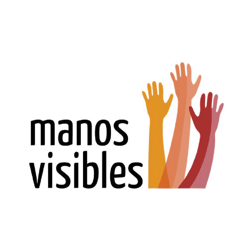 Logo de Manos Visibles