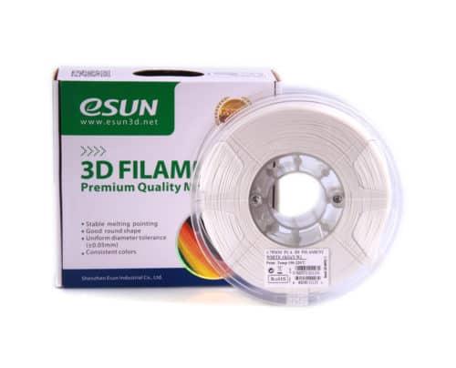 Filamento Esun PLA Plus Blanco Frío