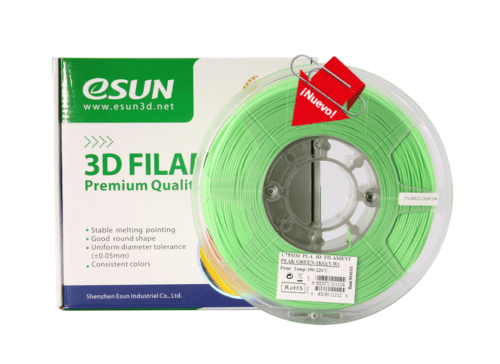 Filamento Esun PLA Plus verde esmeralda